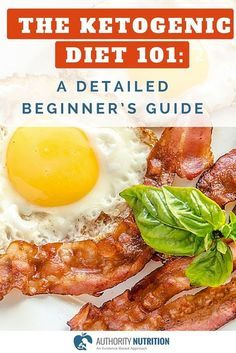 The Ketogenic Diet: A Detailed Beginner's Guide to Keto The ketogenic diet (keto) is a low-carb, high-fat diet that causes weight loss and provides numerous health benefits. This is a detailed beginner's guide. Learn more here: authoritynutritio… Visit: Cetogenic Diet, Ketosis Diet, Week Diet, Diet Menu, Lchf Diet, Paleo Diet, Ketogenic Recipes, Diet Recipes, Healthy Recipes