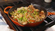 Garlicky Shrimp Ramen