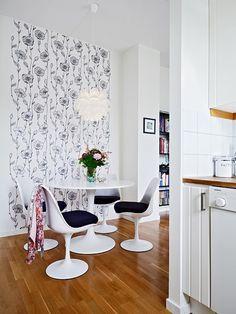 ambiente-pequeno-sala--jantar-papel-parede