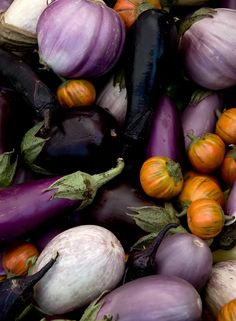 Check out the eggplant varieties from around the world and visit us at dominexnaturalfoods.com