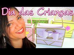 Maletinhas Personalizadas Festa Infantil - YouTube