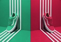 Sneakers Mag Lego by Manuel Mittelpunkt, via Behance