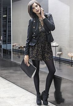 Sleek and chic fashion