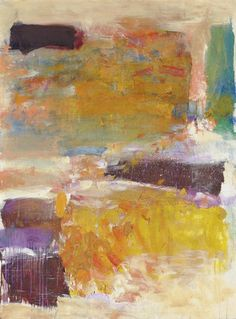 Joan Mitchell, Field for Two I