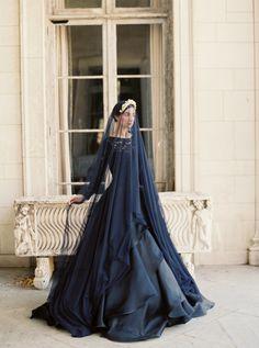 Sareh Nouri 2016 Black Wedding Dress