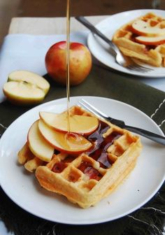 Apple, Cheddar, and Prosciutto Waffles | 24 Very Important Next-Level Waffles
