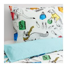 FLICKÖGA Bettwäscheset, 2-teilig IKEA