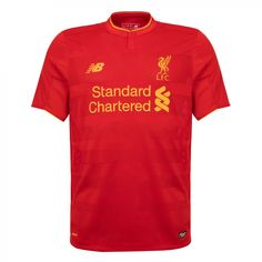 310577a4b04 The Liverpool FC New Balance Men s Short Sleeve Home Shirt is a authentic  replica shirt