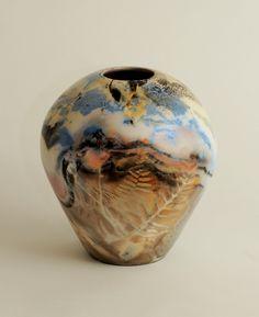 Pit And Saggar Fired Ceramics Lesley Jensen