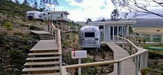 Old Mac Daddy: A Luxury Trailer Park Filled with Vintage Airstream Trailers in South Africa Vintage Airstream, Vintage Caravans, Vintage Trailers, Vintage Campers, Retro Campers, Trailer Tent, Airstream Trailers, Travel Trailers, Luxury Caravans