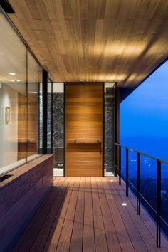 Kidosaki Architects Studio have designed a house on the edge of the Yatsugatake Mountains in Nagano, Japan.