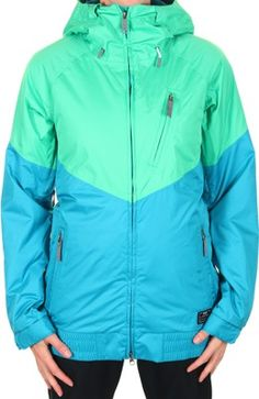 Nike Snowboarding Women's Alpenglow Insulated Jacket - gamma green/ tropical teal - Snowboard Shop > Women's Snowboard Outerwear > Women's Snowboard Jackets > Women's Insulated Snowboard Jackets
