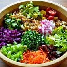 Chopped Salad recipe - Cancer Fighting Food - http://bestrecipesmagazine.com/chopped-salad-recipe-cancer-fighting-food/