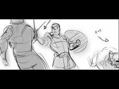GLADIATOR - Maximus The Merciful Scene - Storyboards