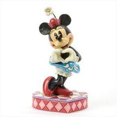 Jim Shore Disney I Heart You