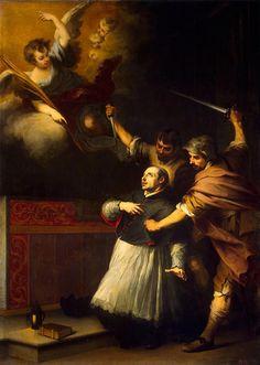 https://flic.kr/p/o2uA8x | Death of the Inquisitor Pedro de Arbues | c. 1664. Oil on canvas. 293,5 x 205,5 cm. The State Hermitage Museum, Saint Petersburg. 302.