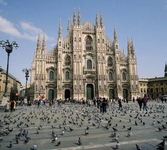 Cathedral of Milan, Italy.