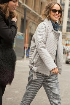 Pin for Later: See All the Best Street Style From NYFW Last Season NYFW Day Three Kelly Framel