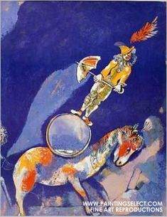 Marc Chagall - the clown on the mandolin - Google Search