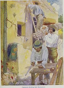 Skelton - Huguehnots Building their Homesteads - Huguenots in South Africa - Wikipedia, the free encyclopedia Church History, History Books, Family History, East India Company, French History, History Online, Persecution, African History, 17th Century