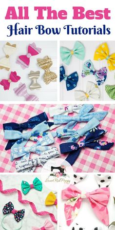I've rounded up all of my favorite hair bow tutorial posts to share with you today! My girls love wearing bows so I'm always on the hunt for a good bow pattern. All of the ones I've listed below I've tried out myself and I love each one! I've been …
