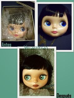 Cómo customizar Blythe o Basaak doll - Tutorial completo