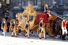 Dutch crown prince willem alexander wedding carriage