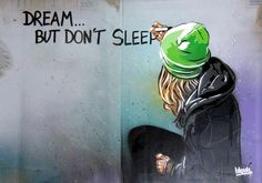 • ARTIST . BLOUH •  ◦ Dream But Don't Sleep ◦