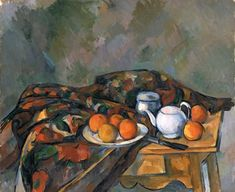 Paul Cezanne Still Life With Teapot Oil Painting Reproductions for sale Cezanne Still Life, Paul Cezanne Paintings, Cezanne Art, List Of Paintings, Oil Paintings, Still Life Artists, Painting Still Life, Painting Gallery, Oil Painting Reproductions