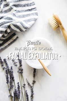 A gentle, two-ingredient facial exfoliator made with kitchen ingredients. Easy to make, budget-friendly. Baking soda may be used as a gentle exfoliant on the face.