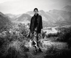 Kati Nescher by Boo George for Porter Magazine Winter Escape 2016