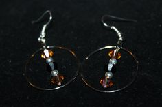 Hey, I found this really awesome Etsy listing at https://www.etsy.com/listing/235841190/hoops-dangles-red-dangles-orange-dangles