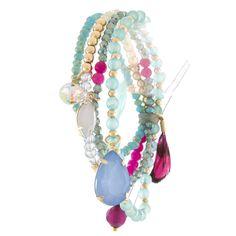 Elegant Mix Bead Layer Bracelet - Jewelry Buzz Box - 1
