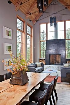 light and color!!! oh--and fireplace, too. wonder if they couldn't've gotten a hot tub in there?