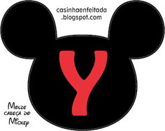 Casinha de Criança: Kit Festa do Mickey Para Imprimir Grátis