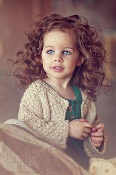 fashion kid girl curls pretty hair beautiful