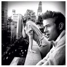 James Dean and Marilyn Monroe !!!! Super sex pic!!!