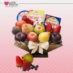 #CheeseAndFruits  DÊ FRUTAS AO INVÉS DE FLORES E SURPREENDA!!! Presentes surpreendentes: http://www.lovefruits.com.br/  #PresentesInesqueciveis #BuqueDeFrutas #PresentesOriginais #PresentesSaudaveis #MaisQualidadeDeVida #PresentesSurpreendentes #LOVEFRUITS