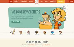 Mail Bakery | Website Showcase | The Design Inspiration