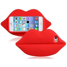 Our cool luscious lips iPhone case will make your favorite piece of technology look smokin' hot! This edgy iPhone case adds the perfect trendy touch to any outfit. Each of these awesome iPhone cases comes in red and pink lipstick shades. Silicone Iphone Cases, Cool Iphone Cases, Cute Phone Cases, 5s Cases, Iphone 7 Plus Cases, Iphone Phone Cases, Iphone Case Covers, Iphone 6, Apple Iphone