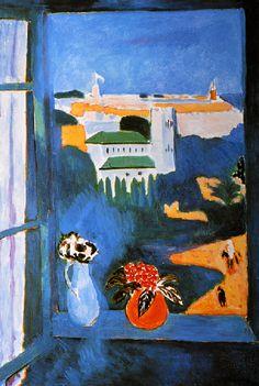 1912 – PAYSAGE VU DE LA FENÊTRE. Henri Matisse