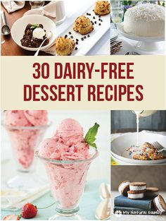 Dairy Free Desserts