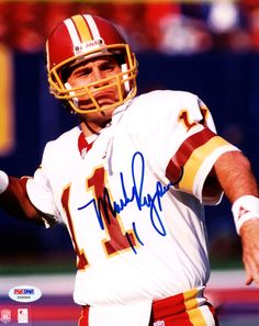 Mark Rypien Autographed 8x10 Photo Washington Redskins PSA/DNA #X09305