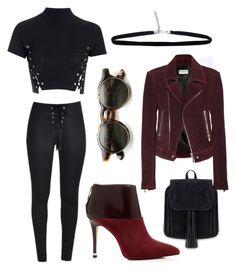 """""""after party"""" by kaye-viecelli on Polyvore featuring Glamorous, Balenciaga and MICHAEL Michael Kors"""