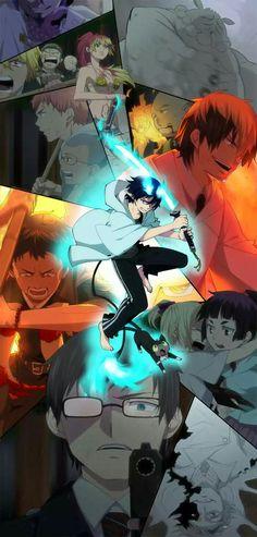 Ao no Exorcist (Blue Exorcist) Image - Zerochan Anime Image Board Ao No Exorcist, Blue Exorcist Anime, I Love Anime, Awesome Anime, Anime Guys, Manga Anime, Anime Art, Rin Okumura, Mephisto