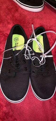 c6668071cf3 4 Sizes Toddler Kids Black Shoes  fashion  clothing  shoes  accessories   kidsclothingshoesaccs