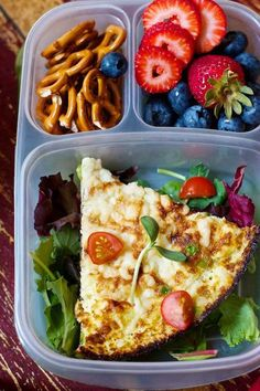 30 days of homemade lunches.