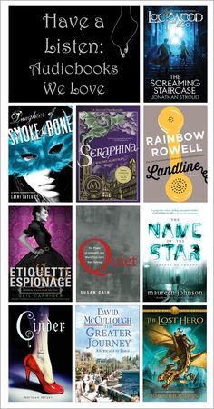 Have a Listen: Audiobooks We Love