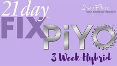 Are you ready to lose weight and tone your whole body? This 21 Day Fix PiYo Hybrid will help you do just that in less than 60 minutes a day!I absolutely love the combination because you're g…