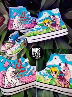 81522a43e78f WIndwaker X Okami Shoes by Bobsmade.deviantart.com on  deviantART Wind  Waker